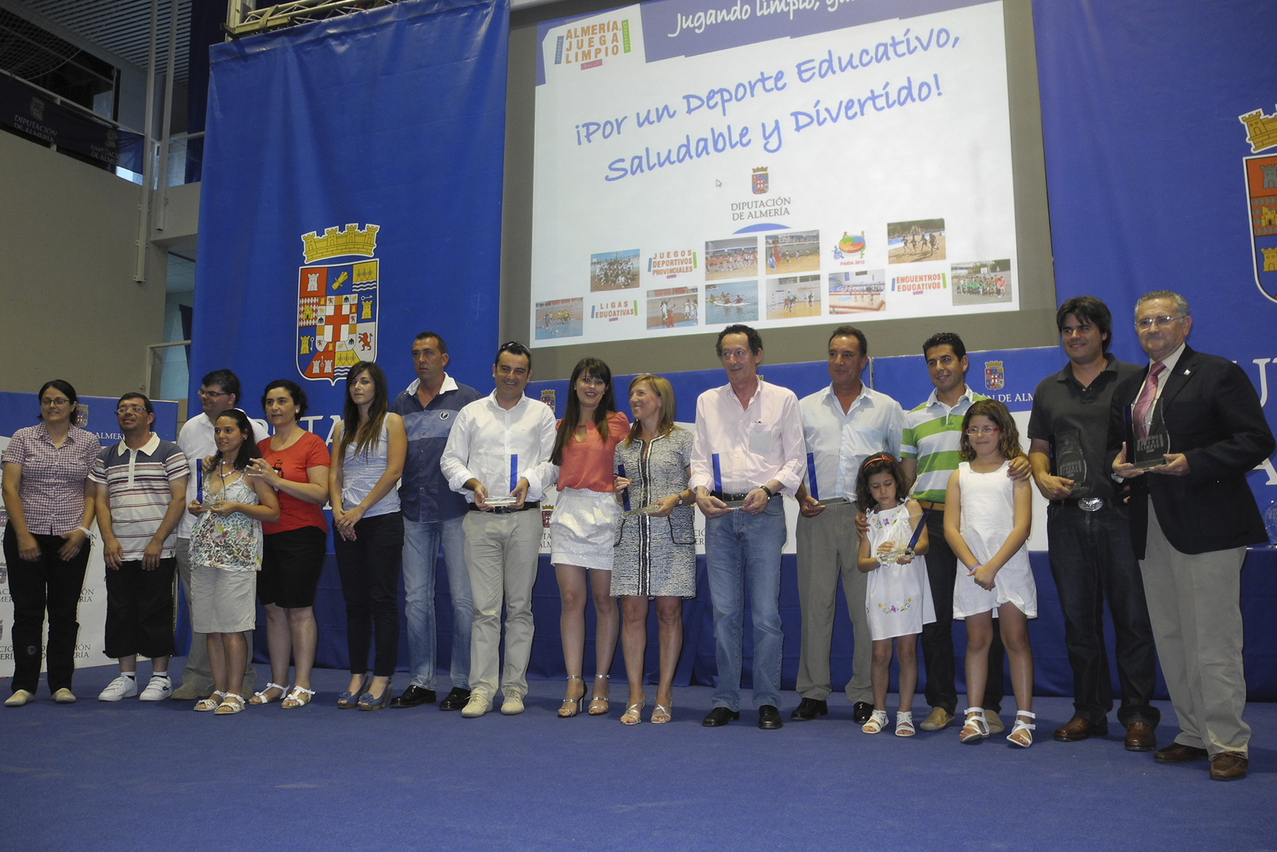 Premios y Galardones Almería Juega Limpio 2012