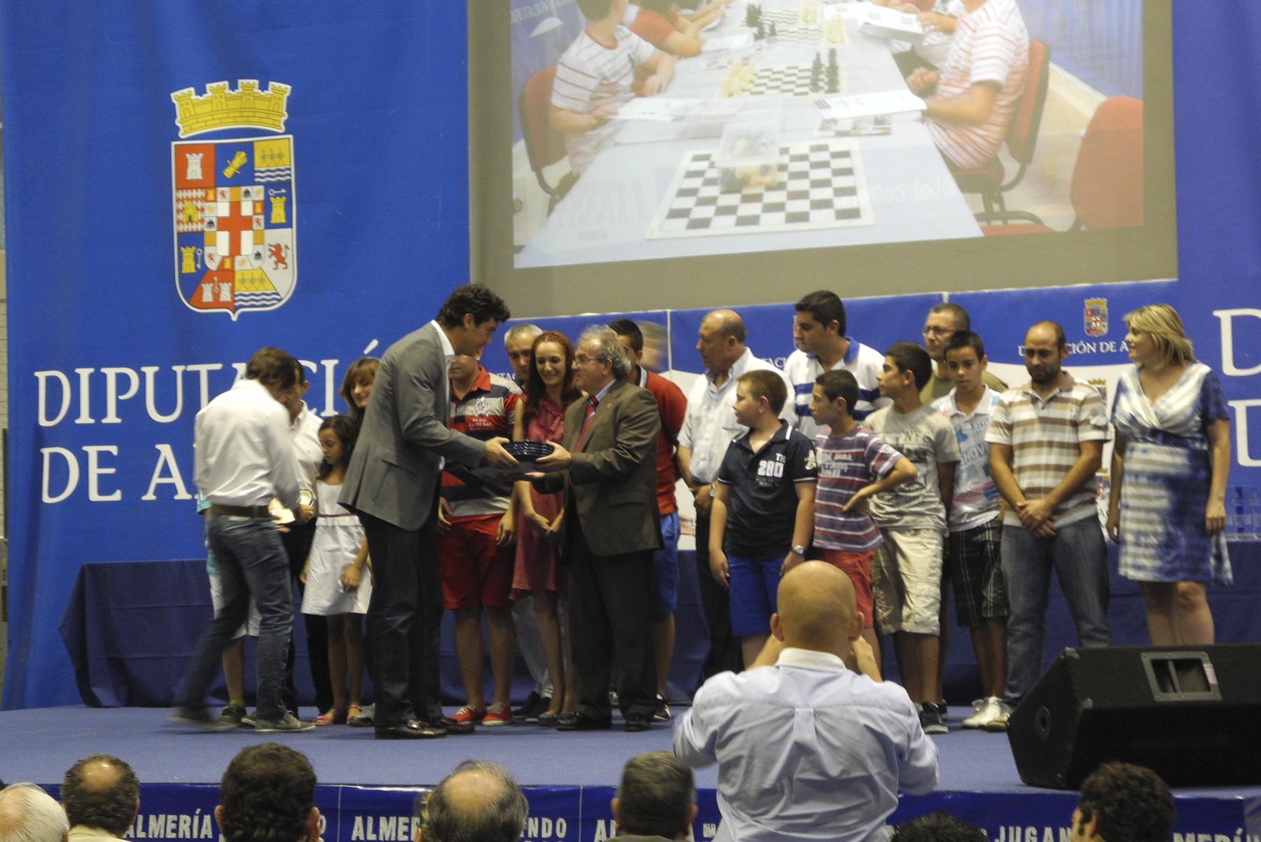 Premios y Galardones Almería Juega Limpio 2012