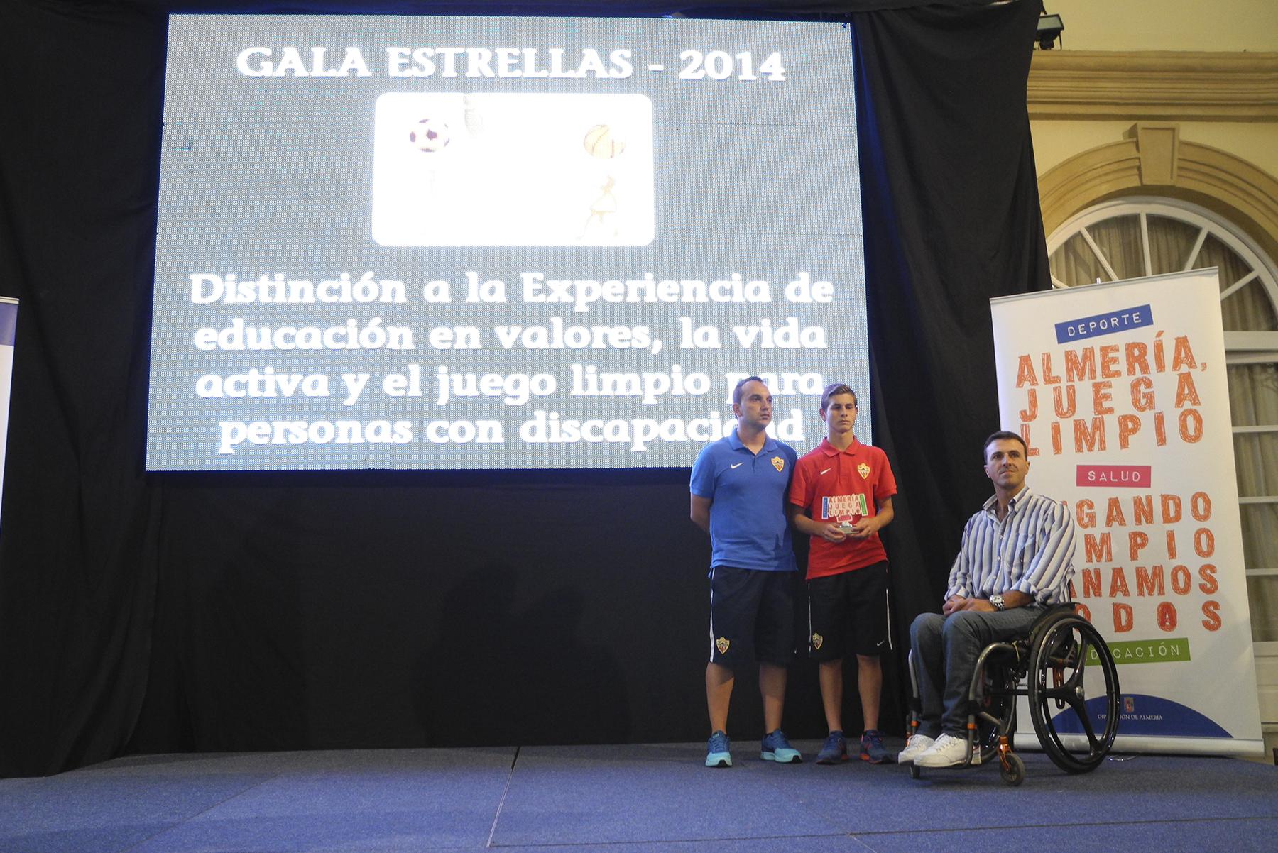 Gala Almería Juega Limpio 2014